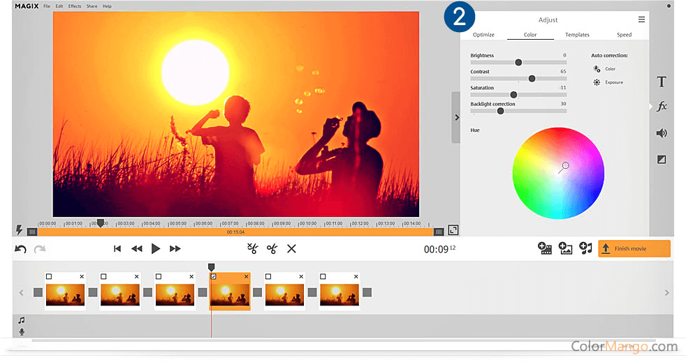 MAGIX Video easy Capture D'écran