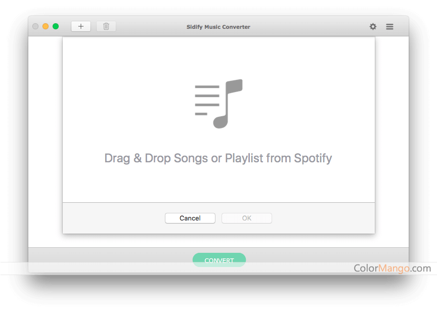 Spotify Music Converter Capture D'écran