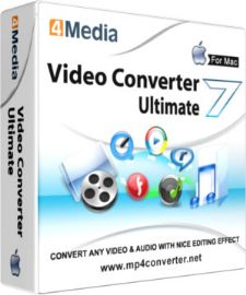 4Media Video Converter Ultimate for Mac Discount Coupon