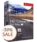 Aiseesoft HD Converter for Mac Discount Coupon
