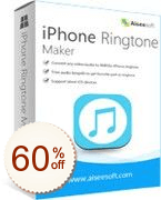 Aiseesoft iPhone Ringtone Maker Discount Coupon
