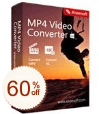 Aiseesoft MP4 Video Converter Discount Coupon