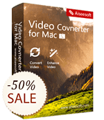 Aiseesoft Video Converter for Mac Discount Coupon