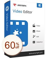 AnyMP4 Video Editor Discount Coupon