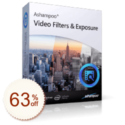 Ashampoo Video Filters and Exposure Discount Coupon