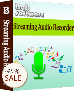Boilsoft Audio Recorder for Mac Discount Coupon