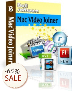 Boilsoft Video Joiner for Mac Discount Coupon