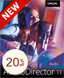 CyberLink AudioDirector Discount Coupon