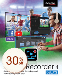 CyberLink Screen Recorder Discount Coupon