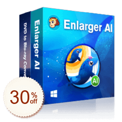 DVDFab Enlarger AI + DVD to Blu-ray converter Discount Coupon