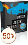 Evaer video recorder for Skype Discount Coupon