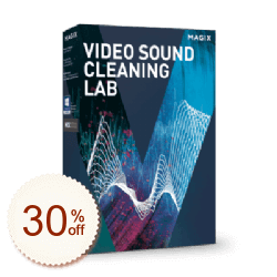 MAGIX Video Sound Cleaning Lab Discount Coupon