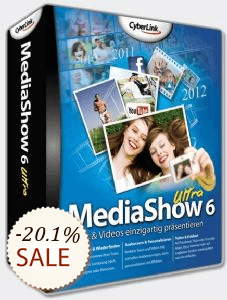 CyberLink MediaShow Discount Coupon