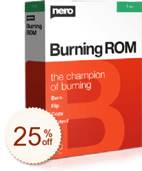 Nero Burning ROM Discount Coupon