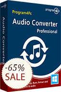 Program4Pc Audio Converter Pro Discount Coupon