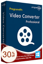 Program4Pc Video Converter Pro Discount Coupon