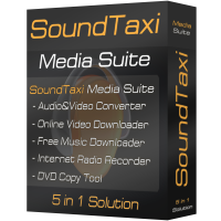 SoundTaxi Media Suite de remise