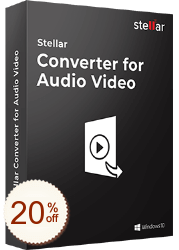 Stellar Converter for Audio Video Discount Coupon