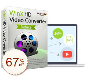 WinX HD Video Converter Deluxe Discount Coupon