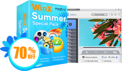 WinX Summer Video Special Pack Discount Coupon