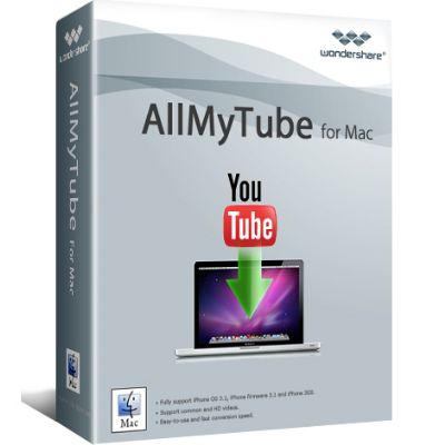 Wondershare AllMyTube for Mac Discount Coupon