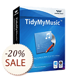 Wondershare TidyMyMusic Discount Coupon