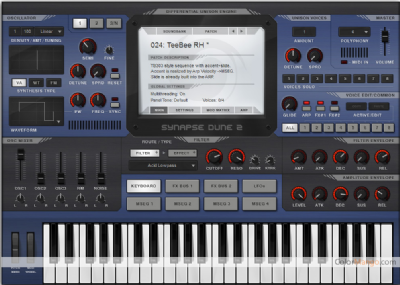 DUNE 2 VST/AU Shopping & Trial Screenshot