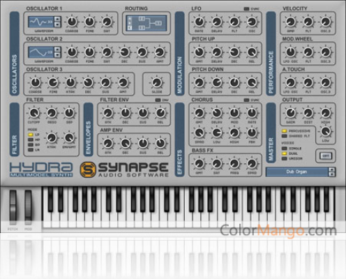 Hydra VST/AU Shopping & Trial Screenshot