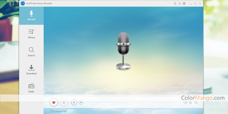 Acethinker Music Recorder Screenshot