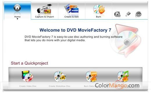 DVD MovieFactory Pro Screenshot