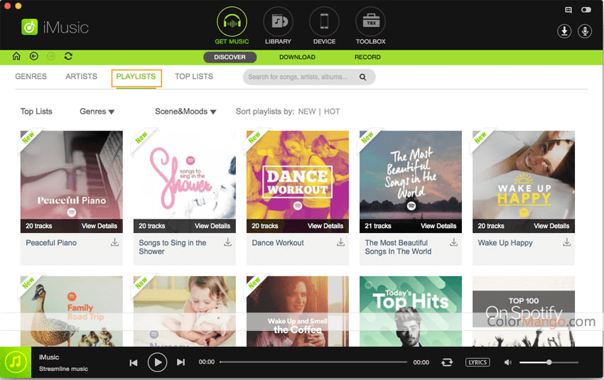 iSkysoft iMusic Screenshot