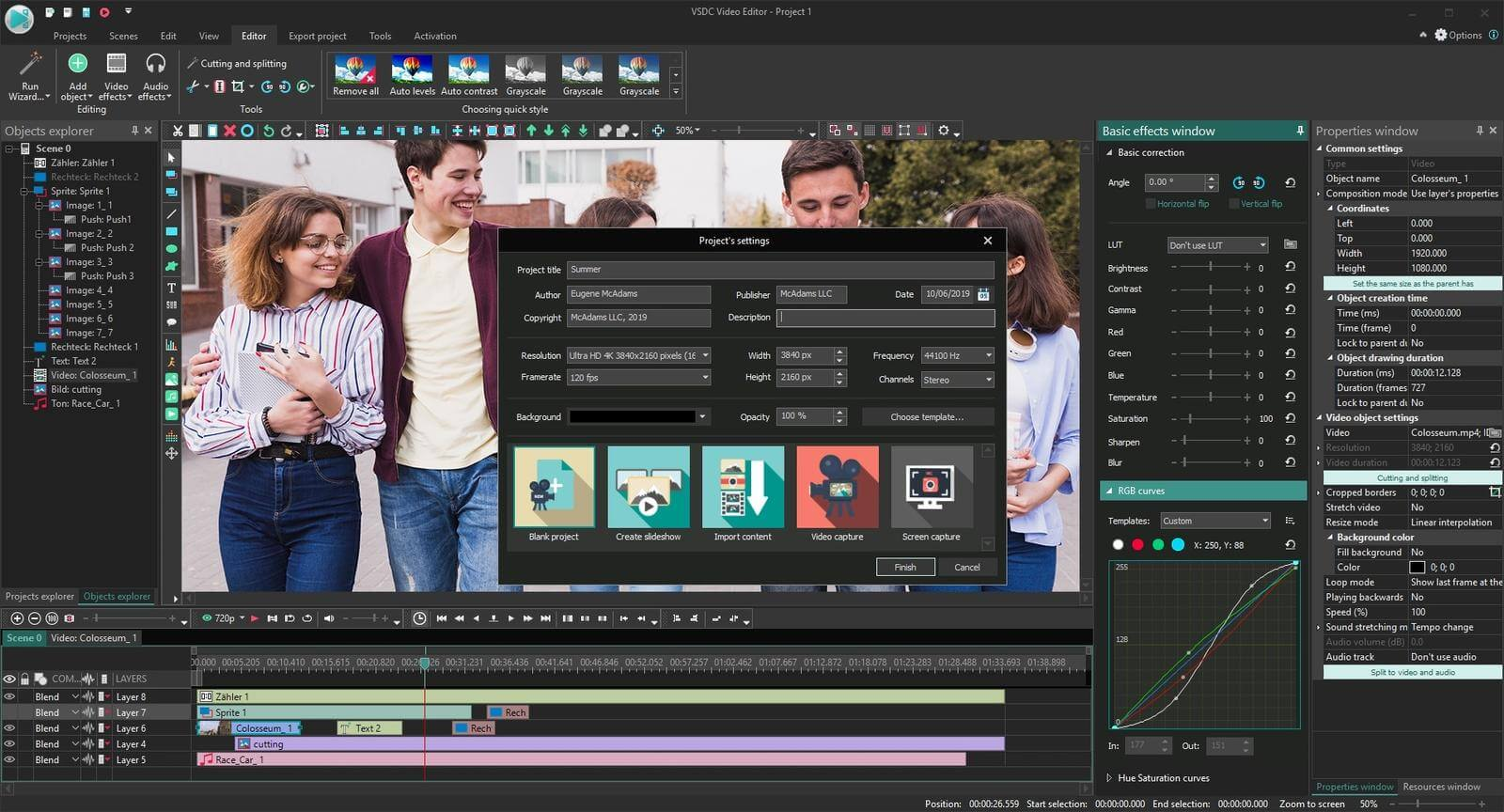 VSDC Video Editor Pro Screenshot