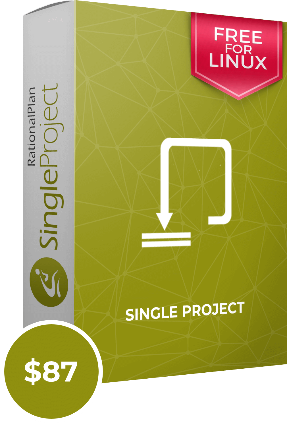 RationalPlan Single Project Boxshot