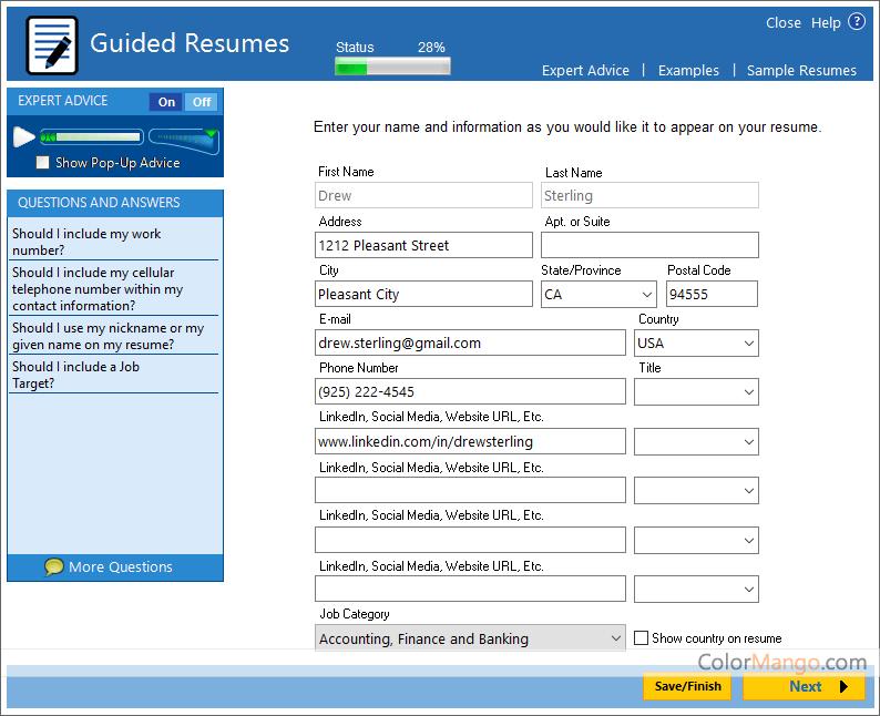 resumemaker professional deluxe achat en ligne prix essai gratuit