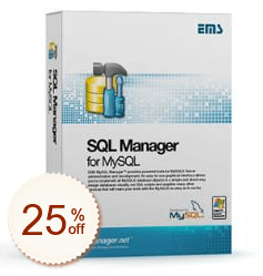 EMS SQL Manager for MySQL Up to 20% OFF Cross-Sell Discount