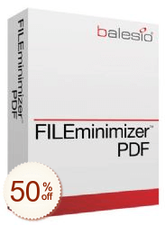 FILEminimizer PDF Discount Deal