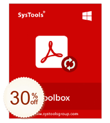 SysTools PDF Toolbox Discount Coupon