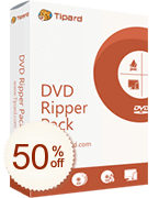 Tipard DVD Ripper Pack Discount Coupon