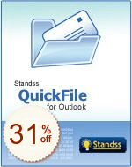 Standss QuickFile for Outlook de remise