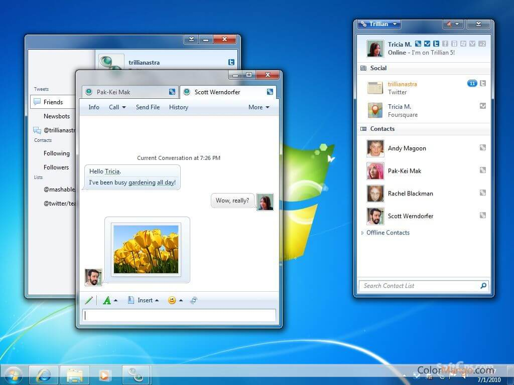 Trillian Screenshot