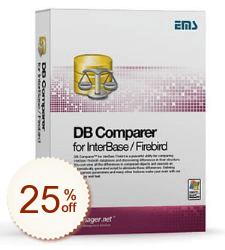 EMS DB Comparer for InterBase/Firebird Discount Coupon