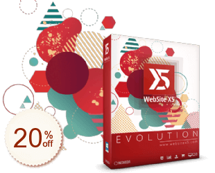 WebSite X5 Discount Coupon