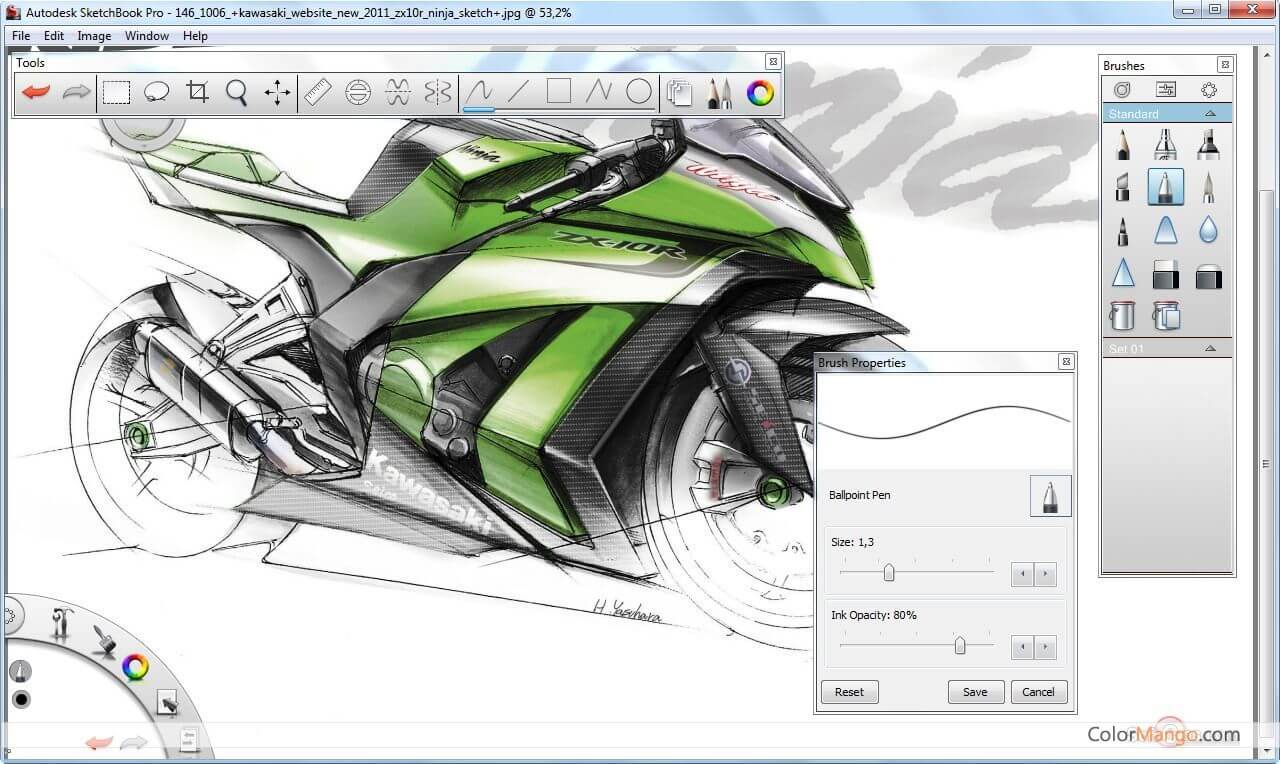 SketchBook Pro Screenshot