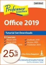 Professor Teaches Office 2019 Discount Coupon