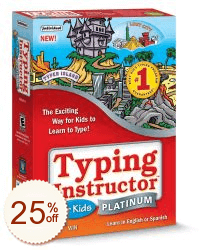 Typing Instructor for Kids Platinum Discount Coupon