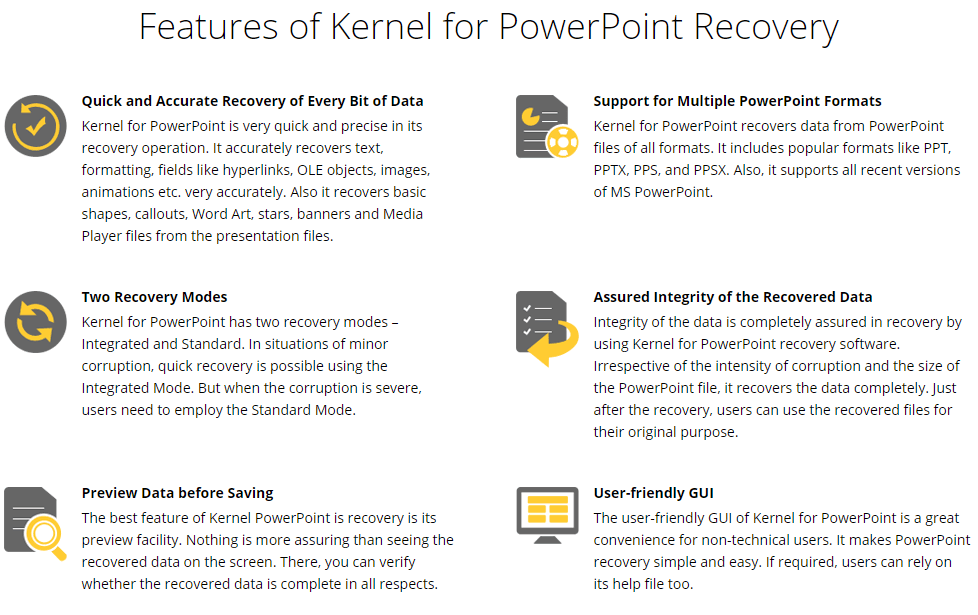 Kernel for PowerPoint Feature