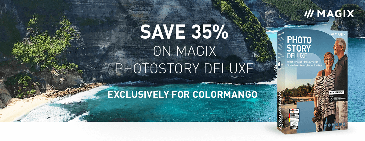 35% off MAGIX Photostory Deluxe