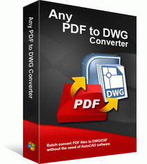 Any PDF to DWG Converter Discount Coupon