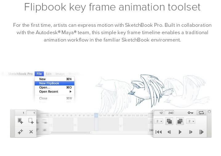 Autodesk SketchBook Pro Feature