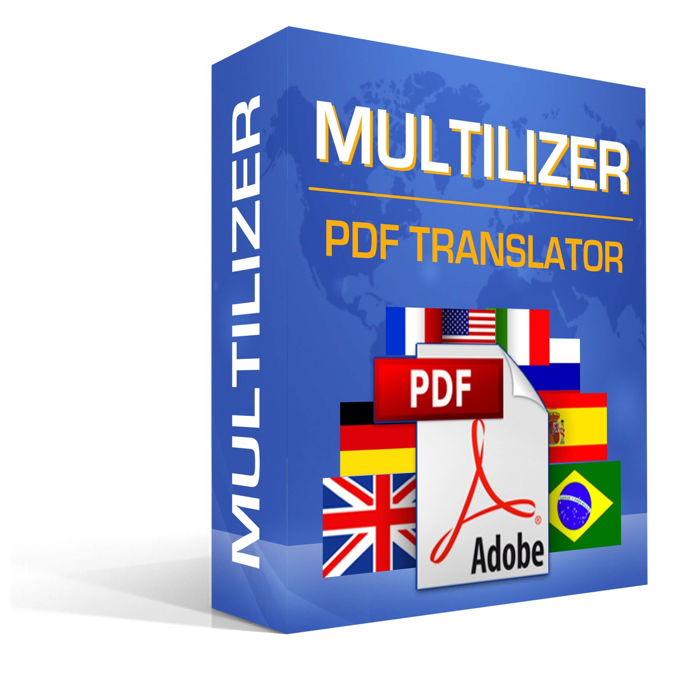 Multilizer PDF Translator promo code